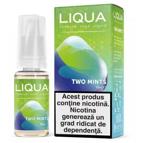 Lichid pentru tigara electronica Liqua Elements 10 ml - Two mints