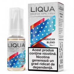 Lichid pentru tigara electronica Liqua Elements 10 ml - American blend