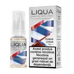 Lichid pentru tigara electronica Liqua Elements 10 ml - Cuban cigar