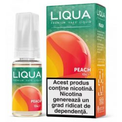 Lichid pentru tigara electronica Liqua Elements 10 ml - Peach