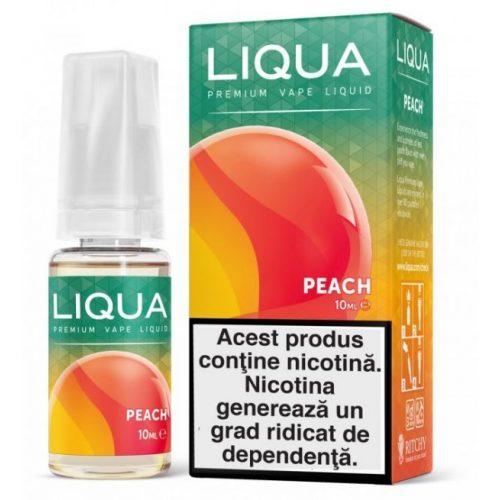 Lichid pentru tigara electronica Liqua Elements 10 ml - Peach