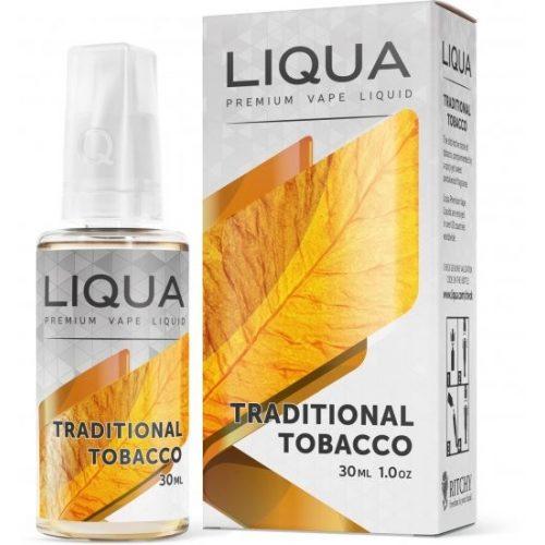 Lichid liqua 30 ml 0 nicotina - Traditional tobacco