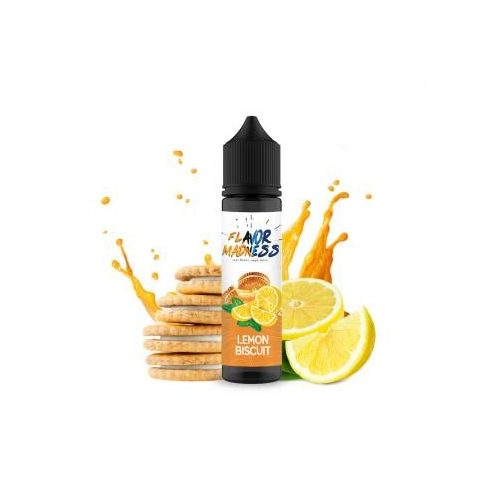Lichid Flavor Madness  Lemon Biscuit 50 ml-0% nicotina