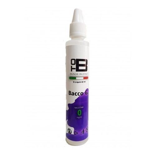 Lichid tob 40 ml fara nicotina -Bacco-G