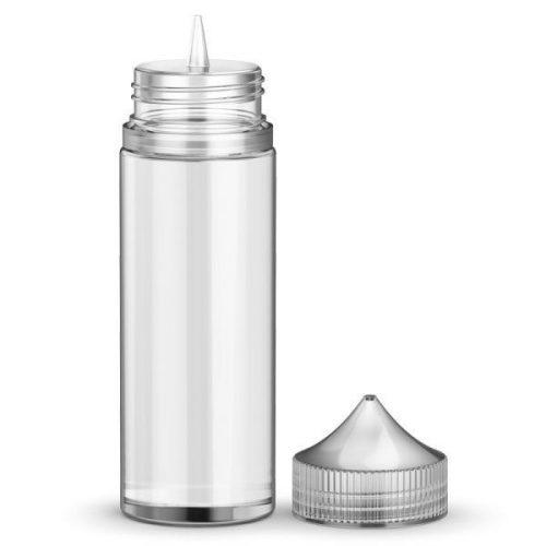 Sticla plastic 120ml - transparenta