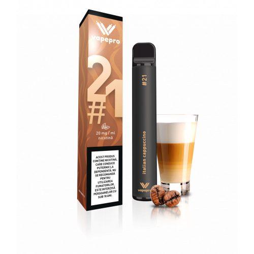 Kit Vapepro unica folosinta 800 pufuri - Italian Cappuccino #21
