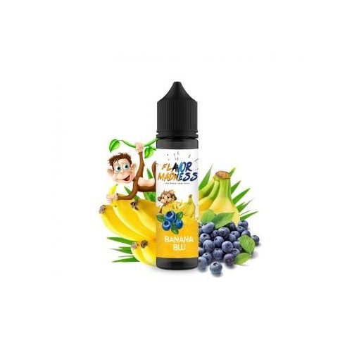 Lichid Flavor Madness  Banana Blu 50 ml-0% nicotina