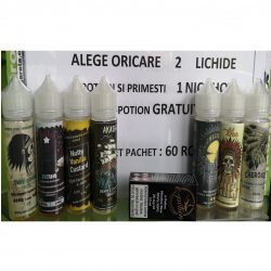 Lichid tigara electronica Pack 2 X Epotion  40ml + Nic Shot 20 mg/ml