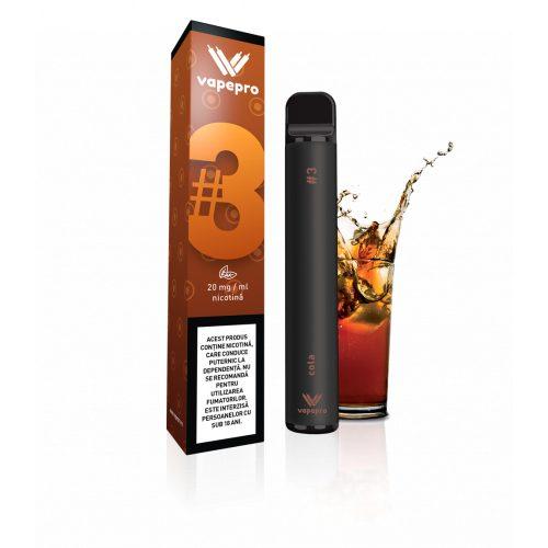 Kit Vapepro unica folosinta 800 pufuri - Cola #3