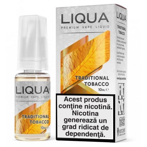 Lichid pentru tigara electronica  Liqua Elements 10 ml - Traditional tobacco