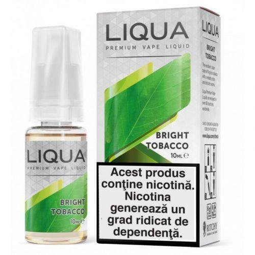 Lichid pentru tigara electronica  Liqua Elements 10 ml - Bright tobacco