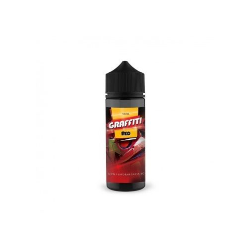 Lichid Flavor Madness Graffity Red 100 ml- 0% nicotina